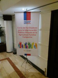 Capacitación en interlocución público-privada para INDAP