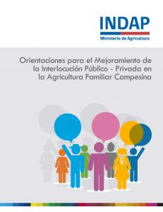 Disponible Manual Participación Ciudadana de INDAP