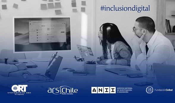 """Webinar Internacional da cierre al proyecto """"Redes e Inclusión Digital"""" con la Universidad ORT de Uruguay"""