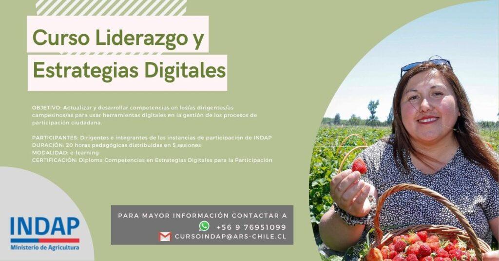 Apoyando la transformación digital de la Agricultura Familiar Campesina en Chile